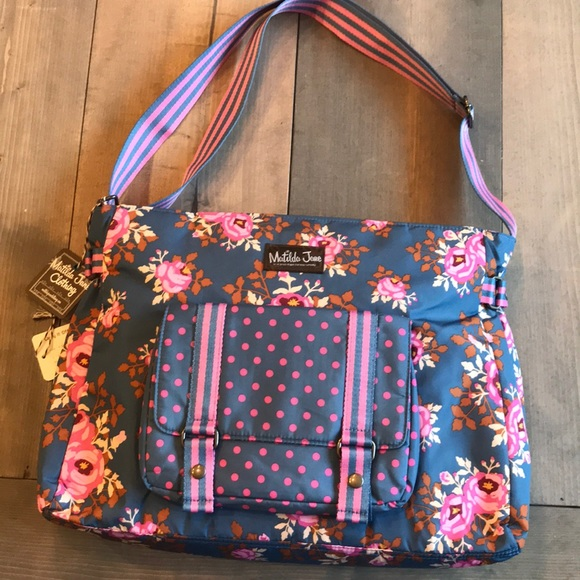 Matilda Jane Carry it Off Messenger Bag 2d37ab9aad506